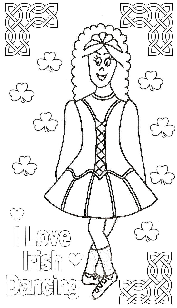 dance games and coloring pages - photo#41