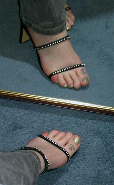 Toe Ring Tattoos - Can't Get Rid of This Ring