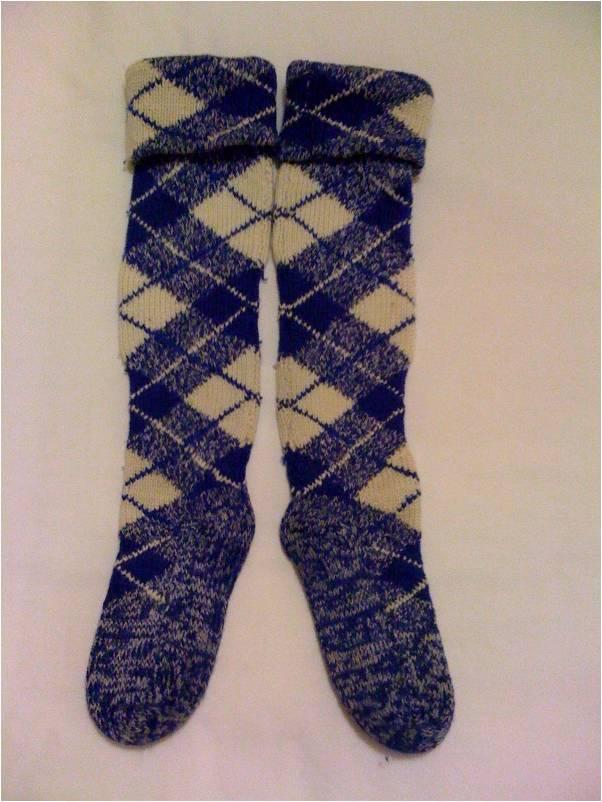 Knitting Pattern For Highland Dance Socks : dance.net - Highland Socks (8970901) - Read article ...