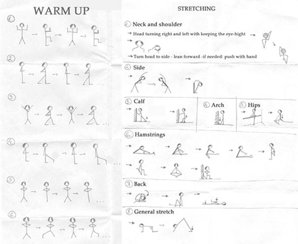 dance.net - Warm-up and stretching program (4982820) - Read ...