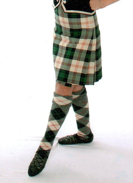 Knitting Pattern For Highland Dance Socks : dance.net - For sale - Kilt and wool socks - USD275 CDN ...