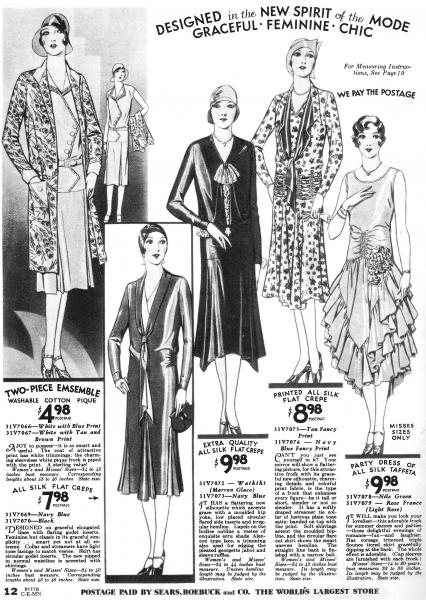 1920s flappers page 3 the fashion spot. Black Bedroom Furniture Sets. Home Design Ideas