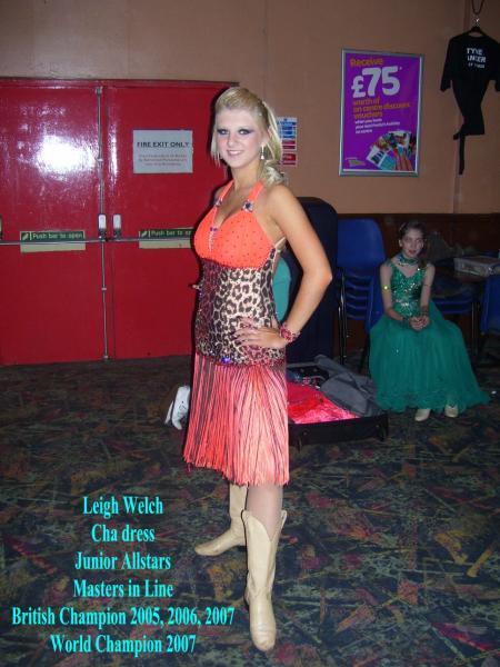 A Line Dance Dress