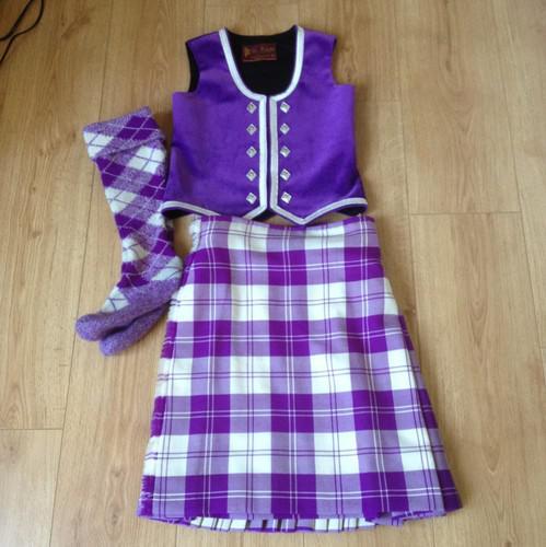 Dance.net - Purple Erskine Highland Dance Outfit (9944789) - Read Article Ballet Jazz Modern ...