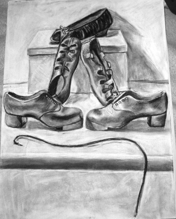 Dancing Shoes Drawing Drawings of Irish Dance Shoes