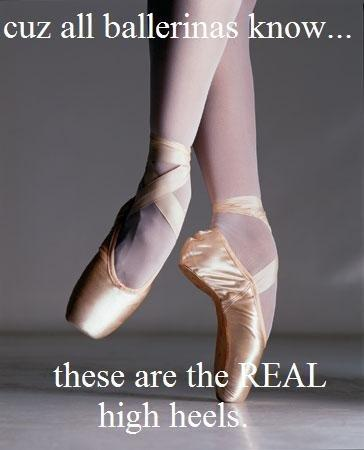 inspirational and or motivational ballet