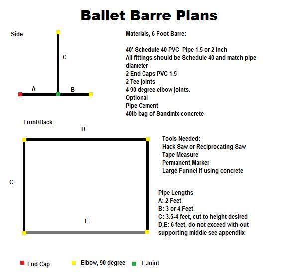 dance.net - Free standing Ballet Barre (8887004) - Read article Ballet Jazz Modern Hip Hop Tap Irish Disco Twirling Cheer Photos Chat Games ...  sc 1 st  Dance.net : pvc pipe ballet barre - www.happyfamilyinstitute.com