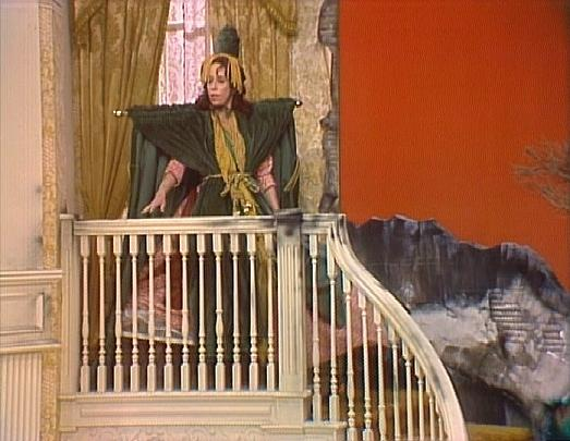 """... Gone with the Wind"""" or better yet Carol Burnett's version of the dress"""