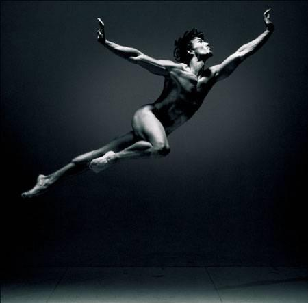 Association: Black and white ballet picture. Photographer: Dieter Blum