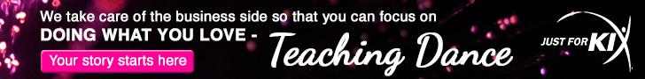 You focus on teaching dance
