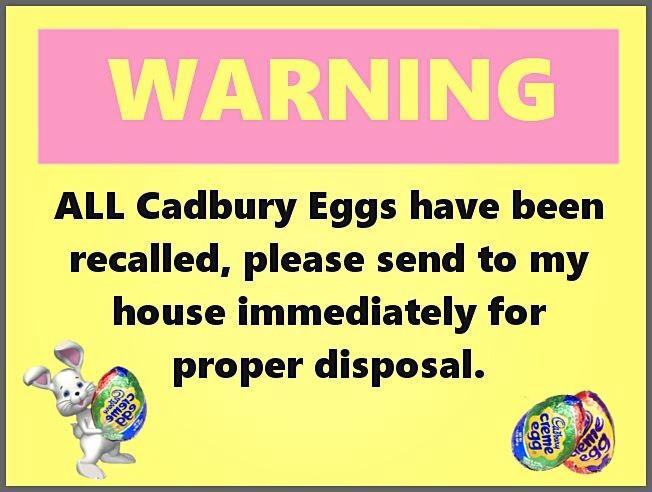 Cadbury Eggs Have Been Recalled! (10181246